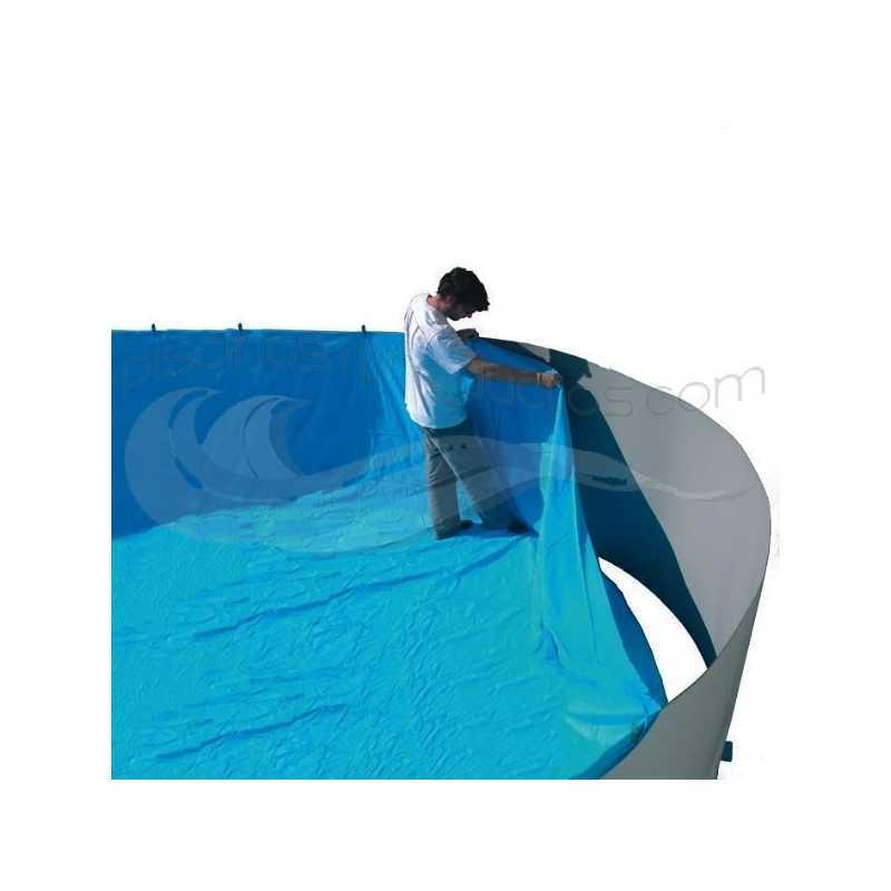 Liner para piscinas redondas 350x120 marca Toi