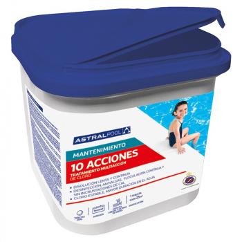 Tabletas multifuncionales Action 10 de 250 gr. Astralpool