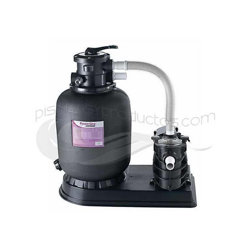 Kit filtration pompe 0,5 CV + filtre à sable Ø400 Hayward