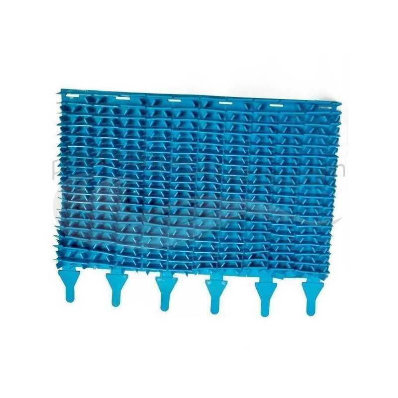 Brosse à lamelle bleue Zodiac Indigo