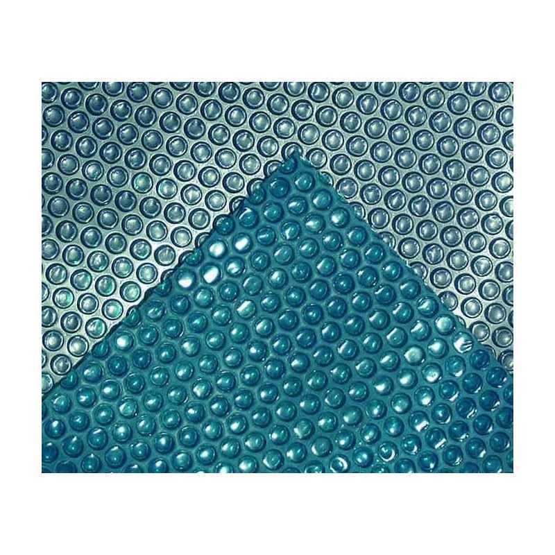 Bâche thermique à bulles bleu/bleu 400 microns sans lisière