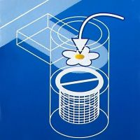 Fettrest spezifischen absorptionsmittel waterlily