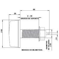 Poussoir pneumatique en gomme PVC Astralpool