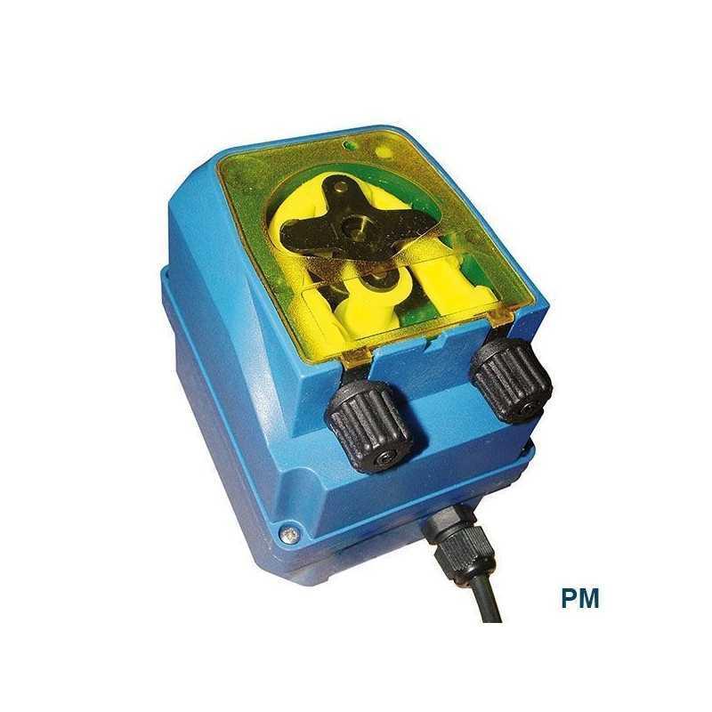 Bomba dosificadora peristáltica analógica PM, con dosificación temporizada. Sekon temporizada