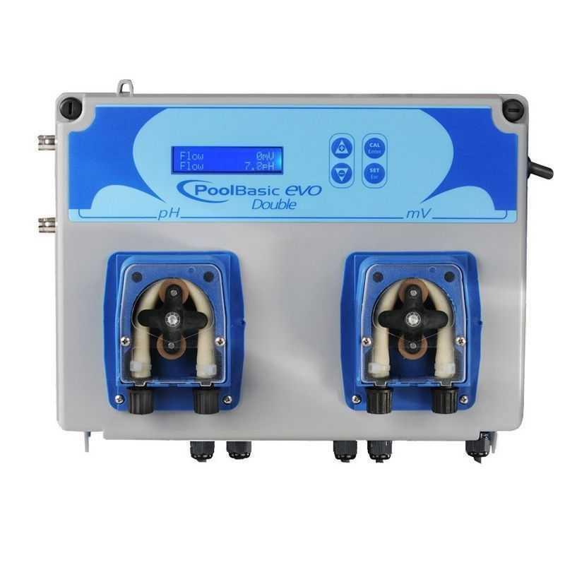 Sistema de control de pH Pool Basic Doble Evo