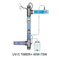 Equipo ultravioleta BLUE LAGOON UV-C Timer + 40W