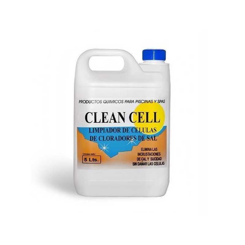 Nettoyeur cellules éléctrolyseurs au sel 5 litres Clean Cell Aqa Chemicals