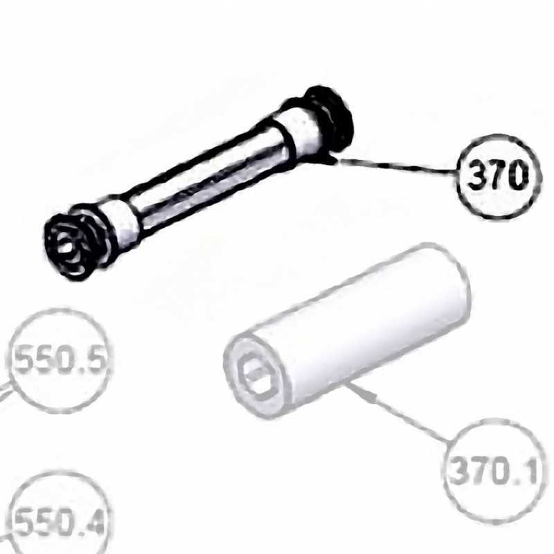 Support brosse nettoyeur automatique Astralpool. Réf. AS38246BL