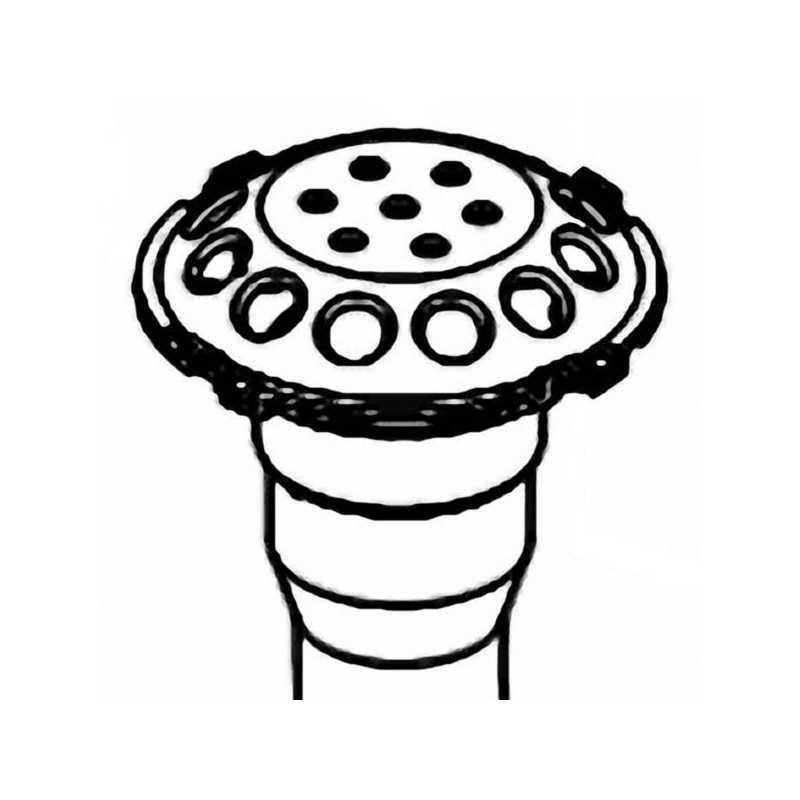 Difusor para filtro Balear (BL) de Kripsol. Ref. RFD0400.00R.