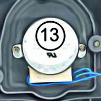 Moteur pompe péristaltique complet pH Perfect Zodiac