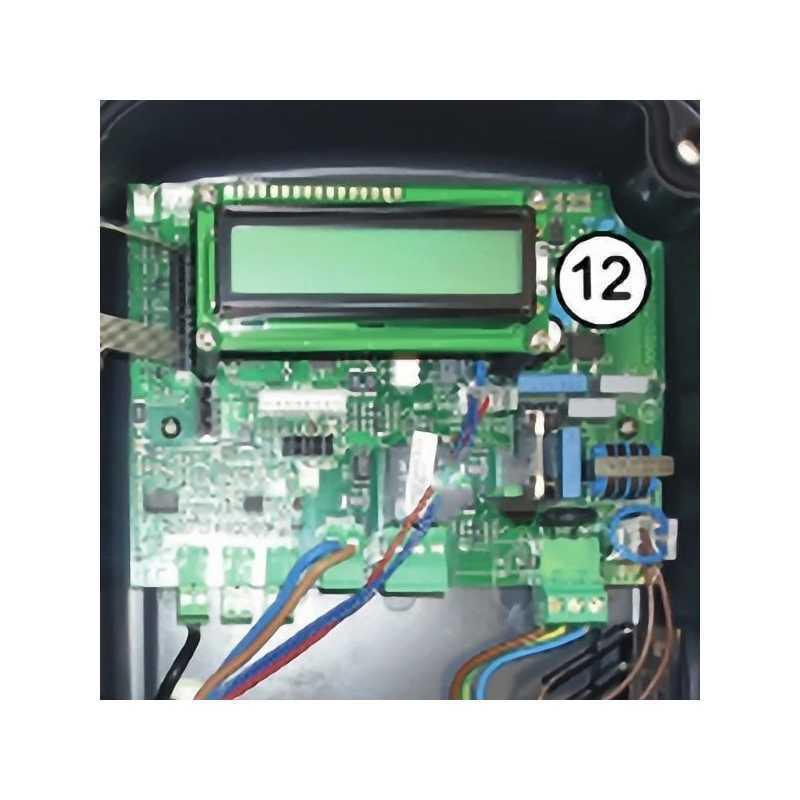 Carta electrónica Chlor Perfect con pantalla LCD naranja