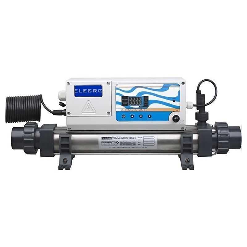 Réchauffeur électrique monophasé in line 3 Kw Elecro
