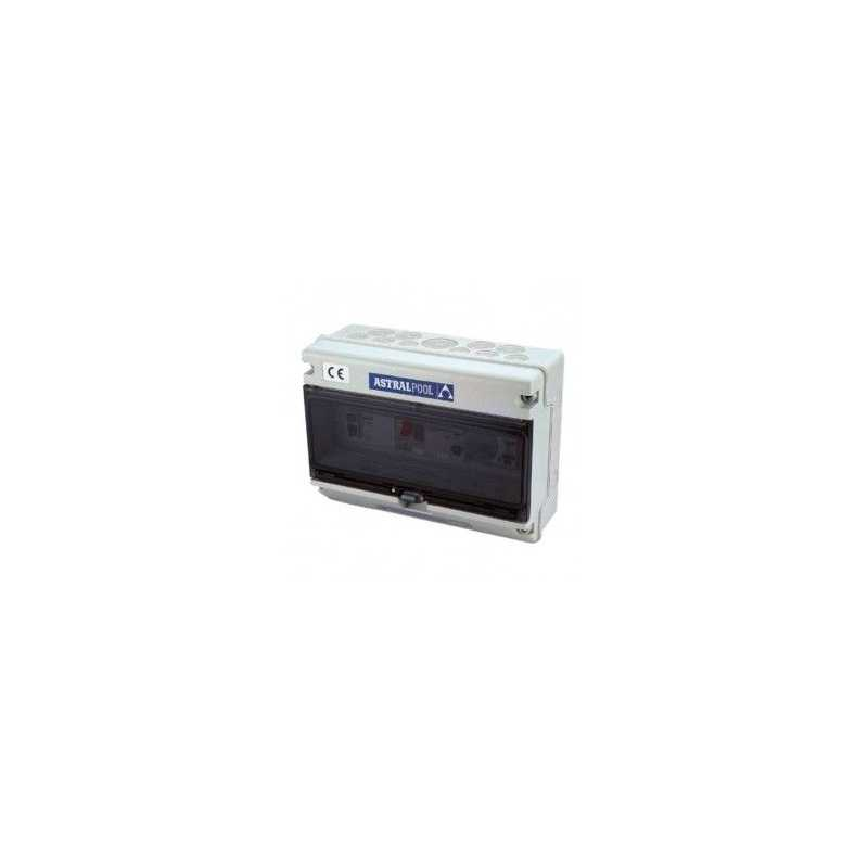 Coffret électrique 1 pompe + projecteur avec différentiel TYPE C Astralpool