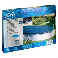 Bâche hiver pour piscines hors-sol ovale 930x560 cm. Gre CIPROV821
