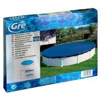 Bâche hiver pour piscines hors-sol rondes Ø 330 cm. Gre CIPR241
