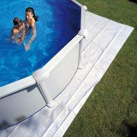 Manta protectora para piscina GRE 750x400 cm MPROV730