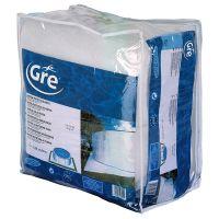 Manta protectora para piscina GRE 400x400 cm MPR400