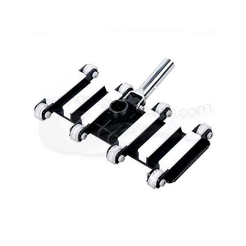 Tête balai flexible à roulements 35 cm clip Starpool