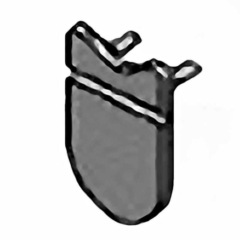 Valvula de goma para Limpiafondos AstralPool y Certikin