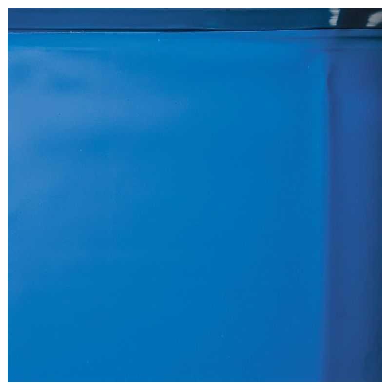 Liner Gre color azul o cenefa.  Para piscinas ovaladas Gre 810x470x132 cms. de altura.