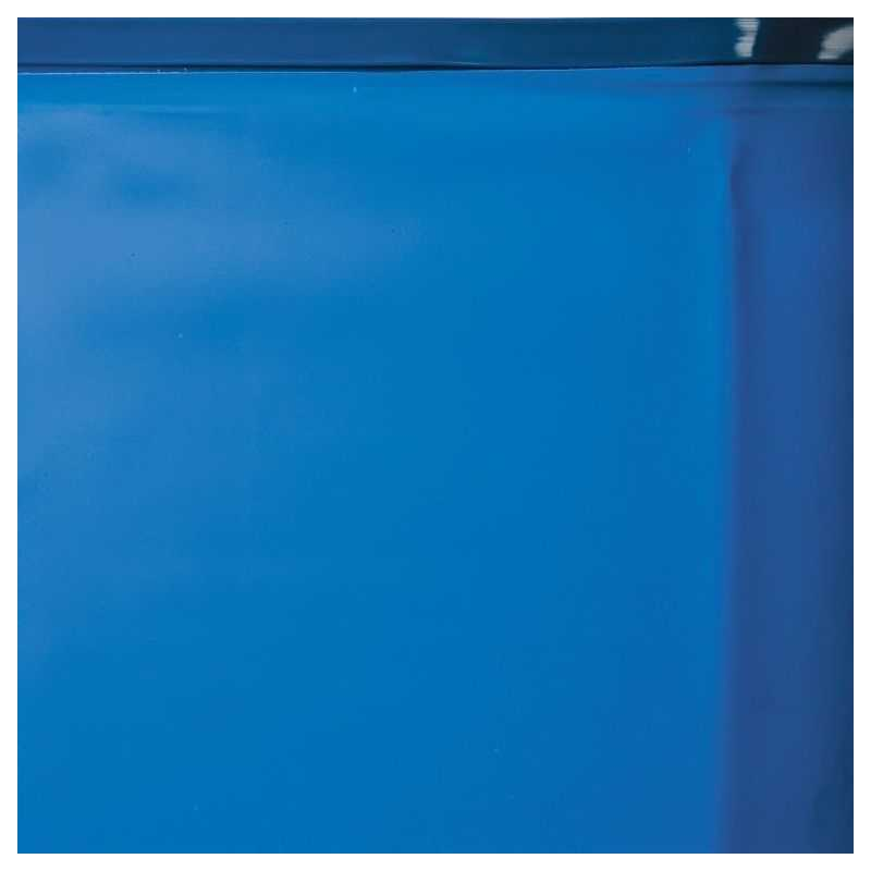 Liner Gre color azul/arena o cenefa.  Para piscinas ovaladas Gre 730x375x132 cms. de altura.