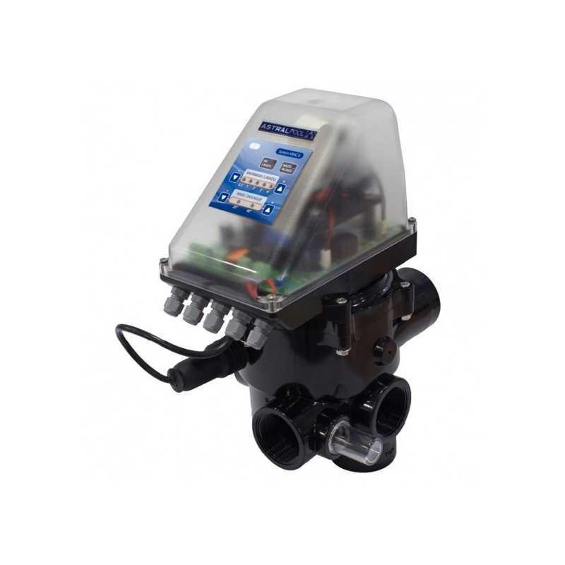"""Válvula selectora automática con System VRAC Basic II 2"""" de AstralPool"""