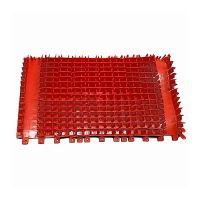 Cepillo PVC DIAG rojo CB para Limpiafondos Dolphin 3001 230V PVC de Dolphin