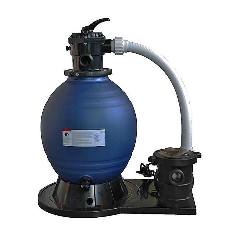 Filtre à sable 450 mm. avec pompe Starpool