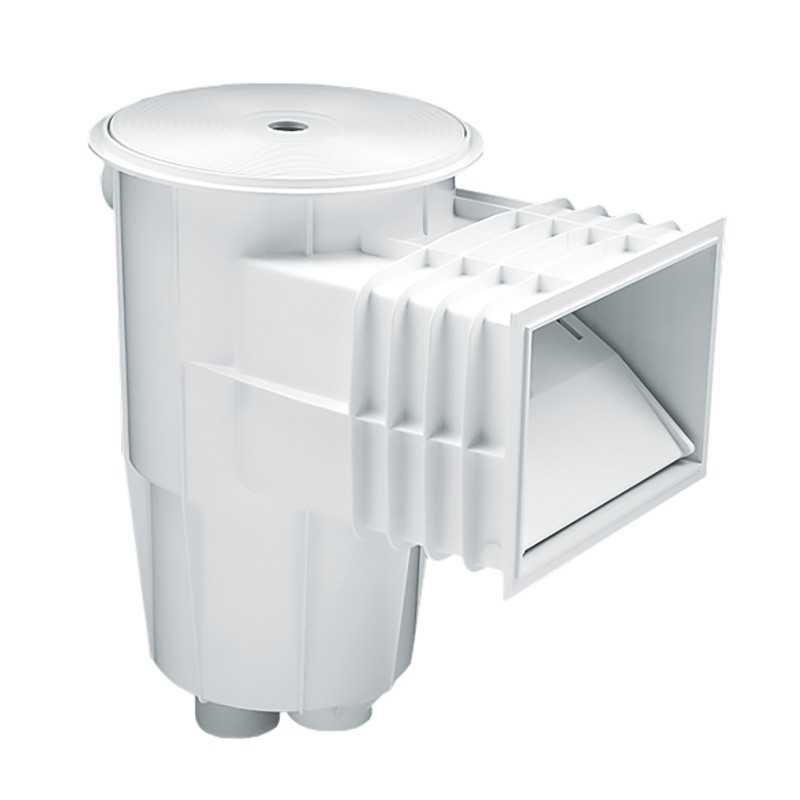 Skimmer boca standard tapa circular piscina hormigón AstralPool