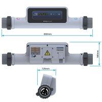 Calentador eléctrico Compact 9 Titanio ElectricHeat de AstralPool