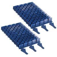 Cepillos Tipo PMS295 Zodiac (Pack 2 un.) para Limpiafondos Vortex 3.2 de Zodiac