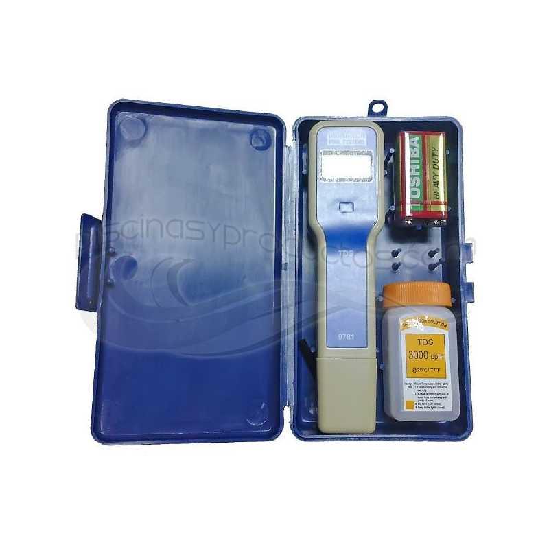 Comprobador de pH electrónico