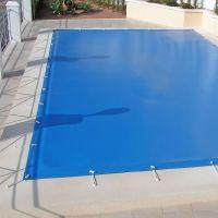 Bâche hiver pour piscines enterrées 4x3 m.