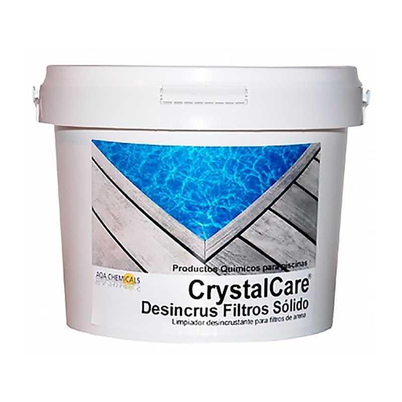 limpiador desincrustante para filtro de arena Desincrús filtros granulado