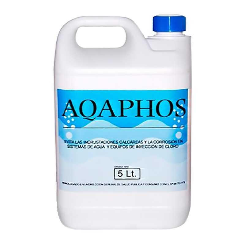 Evita la incrustaciones calcareas y la corrosión en sistema de agua de aqaphos