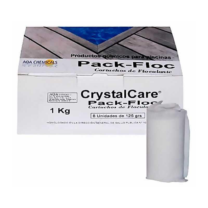 Cartuchos de floculante (Pack Floc ECO) 1 kg.