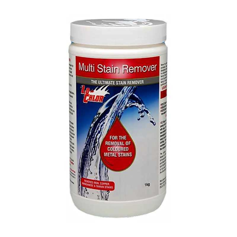 Anti-tâches métaux 1 Kg. Multi-Stain Remover Lo-chlor