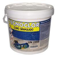 Chlore granulés (trichlore) 5 kgs. Tecnoclor