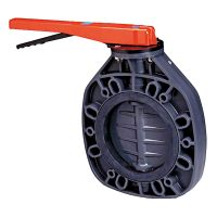 Válvula de mariposa en PVC de Ø 63 - 75 serie Classic FPM de Cepex