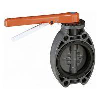 Válvula de mariposa PVC Ø 110 serie standard EPDM de Cepex