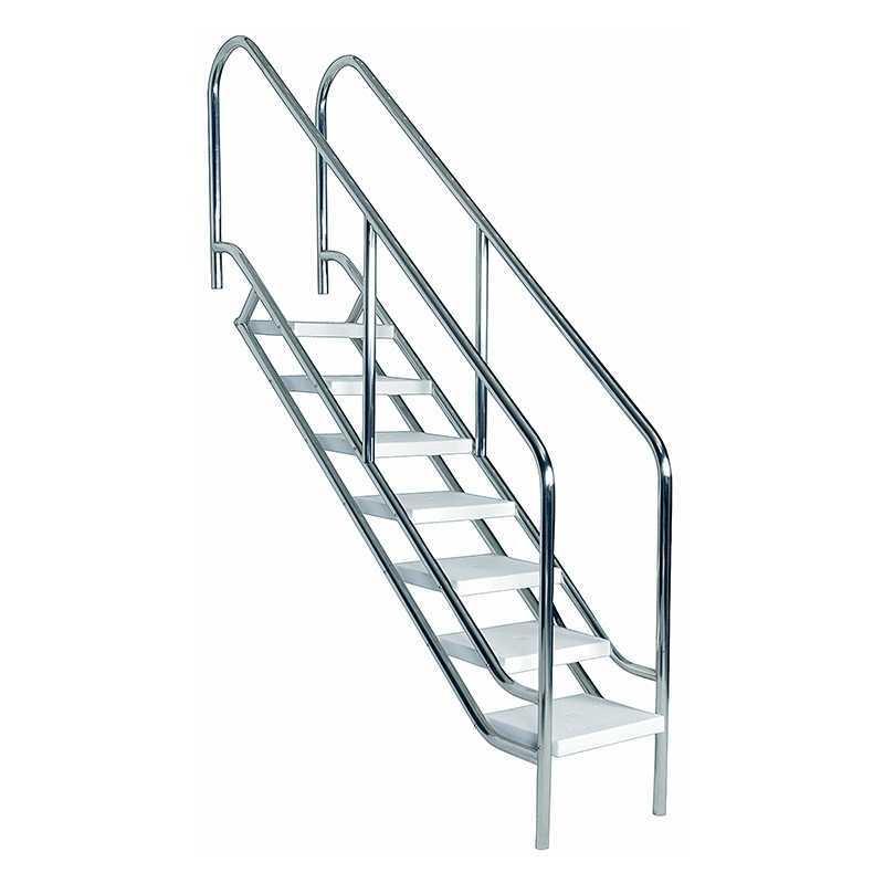 Escalera para discapacitados 4 pelda os astralpool for Escalera discapacitados