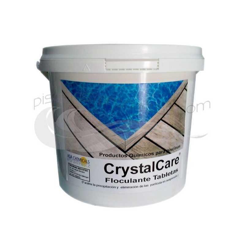 Floculante CrystalCare en pastillas de 200gr 5Kg