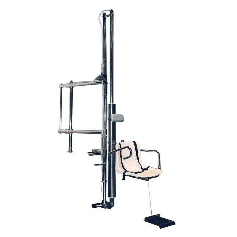 Elevador hidráulico de piscinas para discapacitados