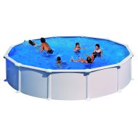 Piscina acero color blanco Gre Star Pool PR458