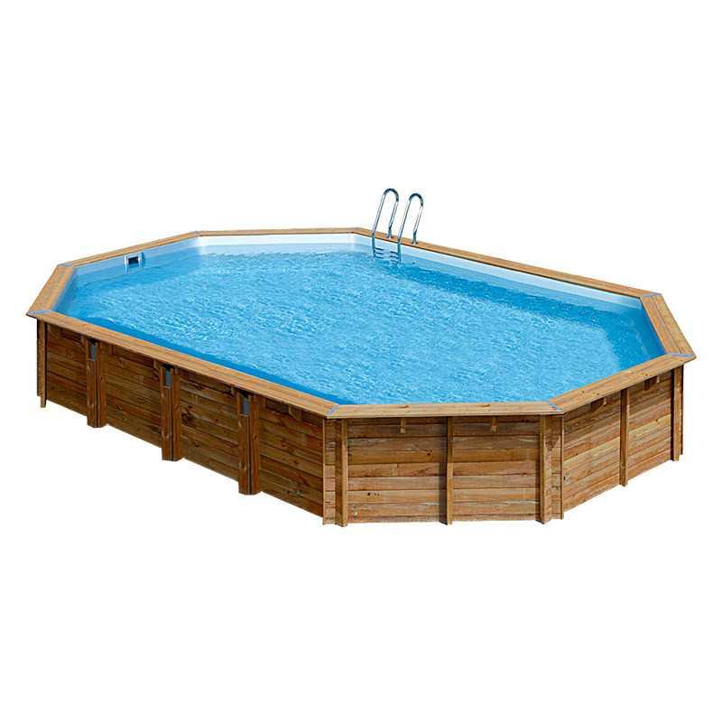 Piscina ovalada avila 942x592x146 cm 786238e de gre for Repuesto piscina gre