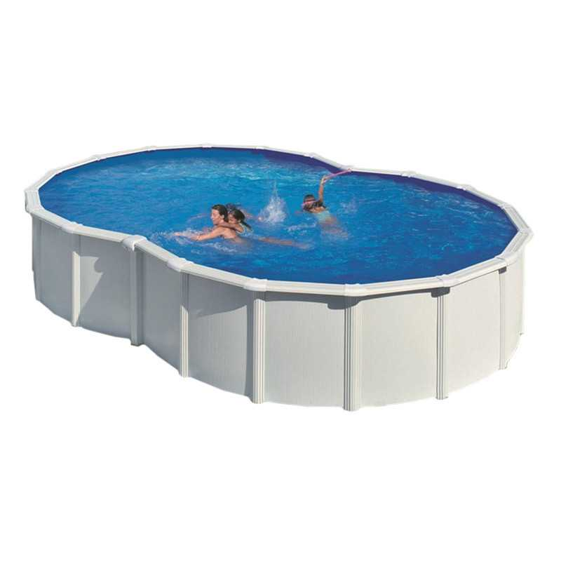 Schwimmbad von stahl gre had die forme von eine acht serie for Repuesto piscina gre