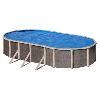 Piscina Gre serie Fusion pool. 760x460x135 cm. KITPROV760H.