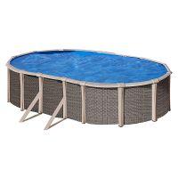 Piscina Gre serie Fusion pool. 670x370x135 cm. KITPROV670H.
