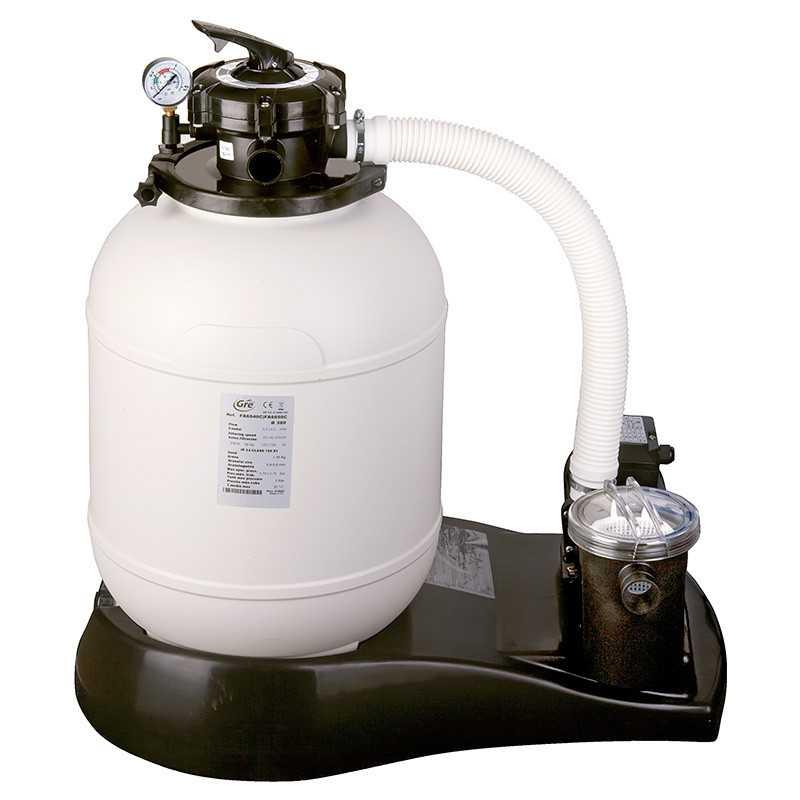 Monobloc de filtración 4.000l/h - Ø380 GRE FA6040