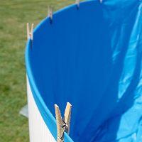 Liner Gre color azul.  Para piscinas redondas Gre Ø300x90 cms. de altura.